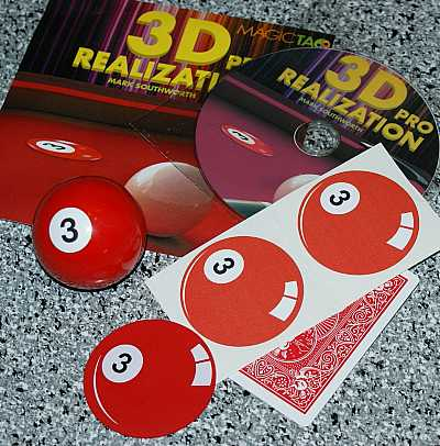 3D Realization Pro-- billiard ball production (3-ball) - The