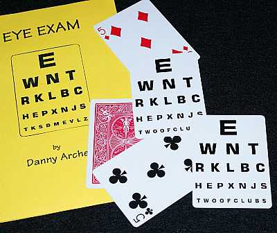 Eye Exam -- Danny Archer - The Magic Gadget Site